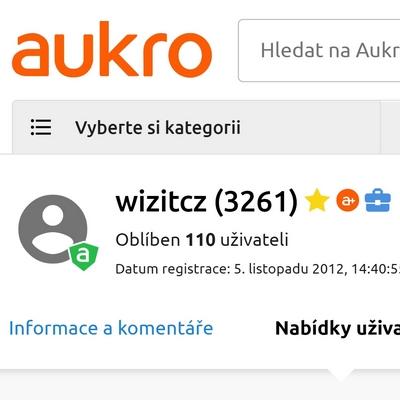 Reference na portálu Aukro